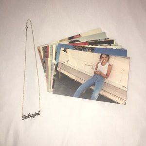 RARE Brandy Melville Card + Necklace Bundle